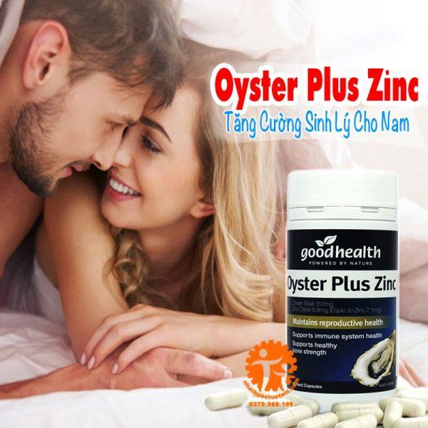 tinh chất hàu biển úc Oyster Plus Zinc